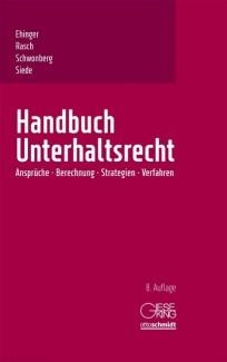 Handbuch Unterhaltsrecht