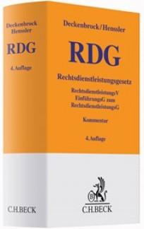 Rechtsdienstleistungsgesetz: RDG. Kommentar