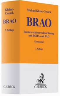 Bundesrechtsanwaltsordnung: BRAO-Kommentar