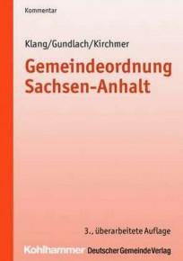 Gemeindeordnung Sachsen-Anhalt. Kommentar