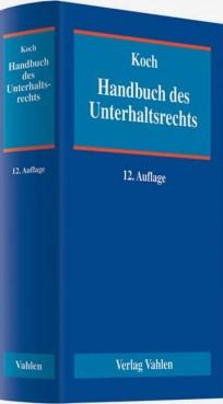 Handbuch des Unterhaltsrechts