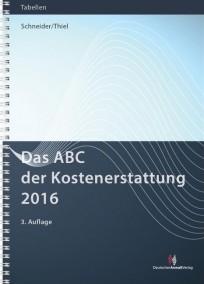 Das ABC der Kostenerstattung 2016