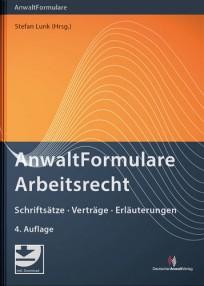 AnwaltFormulare Arbeitsrecht, mit Muster-Download