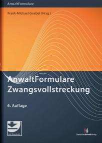 AnwaltFormulare Zwangsvollstreckung, mit Muster-Download