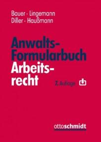 Anwaltsformularbuch Arbeitsrecht