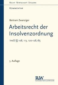 Arbeitsrecht der Insolvenzordnung