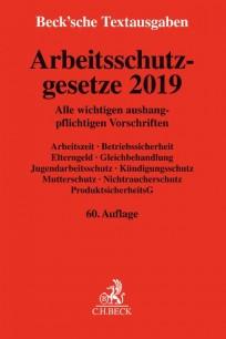 Arbeitsschutzgesetze 2019