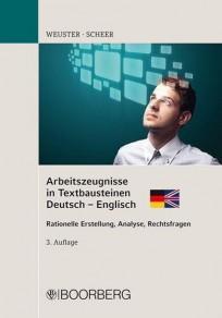 Arbeitszeugnisse in Textbausteinen, Deutsch - Englisch