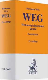Wohnungseigentumsgesetz (WEG). Kommentar