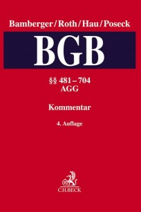 BGB, Kommentar zum Bürgerlichen Gesetzbuch. Band 2