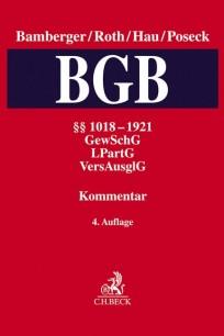 BGB, Kommentar zum Bürgerlichen Gesetzbuch. Band 4