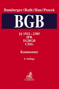 BGB, Kommentar zum Bürgerlichen Gesetzbuch. Band 5