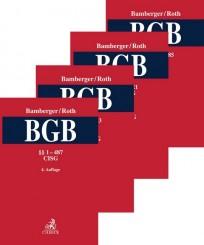 BGB, Kommentar zum Bürgerlichen Gesetzbuch. Gesamtwerk in 4 Bänden
