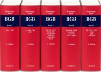 BGB, Kommentar zum Bürgerlichen Gesetzbuch. Gesamtwerk in 5 Bänden