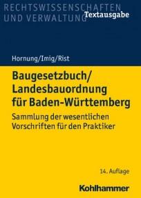 Baugesetzbuch / Landesbauordnung für Baden-Württemberg