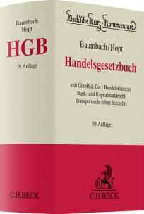 Handelsgesetzbuch. HGB-Kommentar