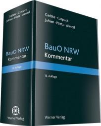 Kommentar zur Bauordnung NRW