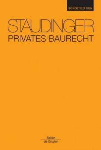 Staudinger Privates Baurecht