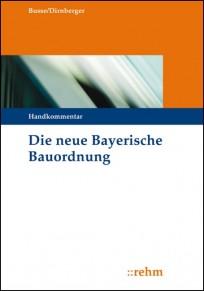 Die neue Bayerische Bauordnung. Handkommentar