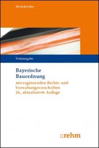 Bayerische Bauordnung. Textausgabe