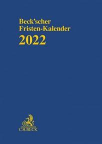 Beck'scher Fristen-Kalender 2022