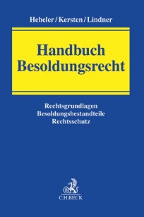Handbuch Besoldungsrecht