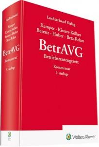 BetrAVG - Kommentar zum Betriebsrentengesetz