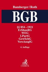 BGB, Kommentar zum Bürgerlichen Gesetzbuch. Band 3