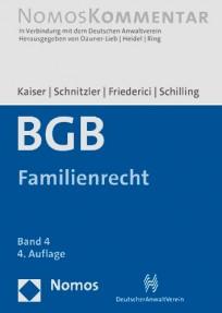 BGB-Gesamtausgabe. Band 4: Familienrecht