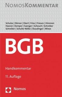 Bürgerliches Gesetzbuch. BGB-Handkommentar