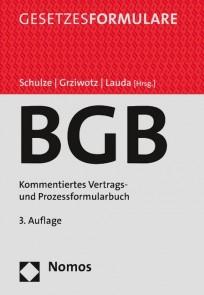 BGB. Kommentiertes Vertrags- und Prozessformularbuch, mit Online-Zugang