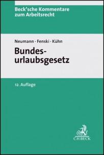 Bundesurlaubsgesetz (BurlG). Kommentar