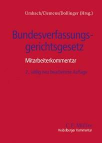 Bundesverfassungsgerichtsgesetz. Kommentar