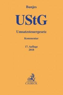 Umsatzsteuergesetz (UStG). Kommentar