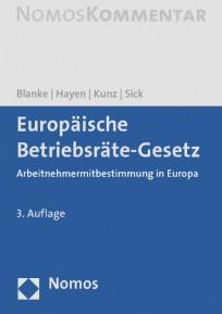 Europäische Betriebsräte-Gesetz. Kommentar