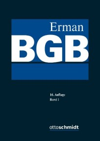 Erman BGB-Kommentar in 2 Bänden