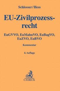 EU-Zivilprozessrecht. Kommentar