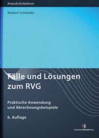 Fälle und Lösungen zum RVG