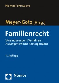NomosFormulare. Familienrecht