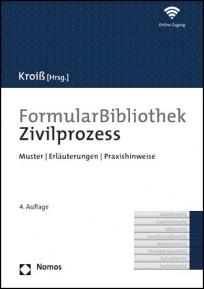 FormularBibliothek Zivilprozess, mit Online-Zugang