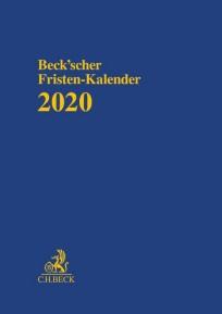 Beck'scher Fristen-Kalender 2020