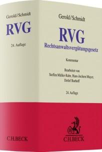 Rechtsanwaltsvergütungsgesetz: RVG-Kommentar