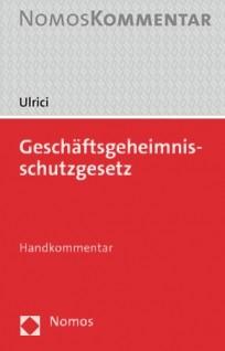 Geschäftsgeheimnisschutzgesetz. Handkommentar