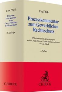 Prozesskommentar zum Gewerblichen Rechtsschutz