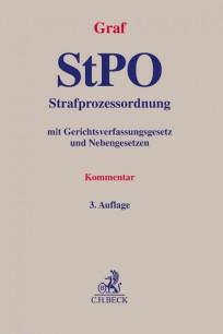 Strafprozessordnung (StPO). Kommentar