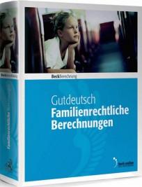 Familienrechtliche Berechnungen, Edition 2/2017