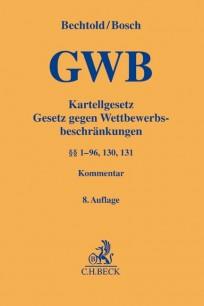 Kartellgesetz. GWB-Kommentar