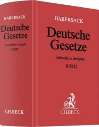 Habersack Deutsche Gesetze. Gebundene Ausgabe II/2021