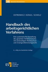Handbuch des arbeitsgerichtlichen Verfahrens