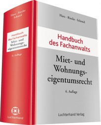 Handbuch des Fachanwalts Miet- und Wohnungseigentumsrecht